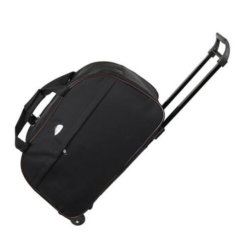 "Duffle Bag 24"" Wheeled Trolley Bag Carry"