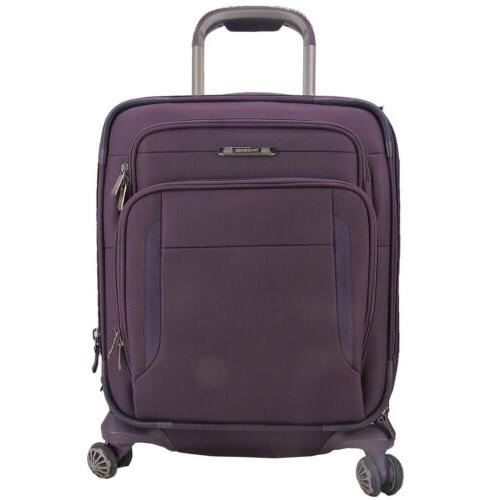 executive 19 inch carry on spinner suitcase
