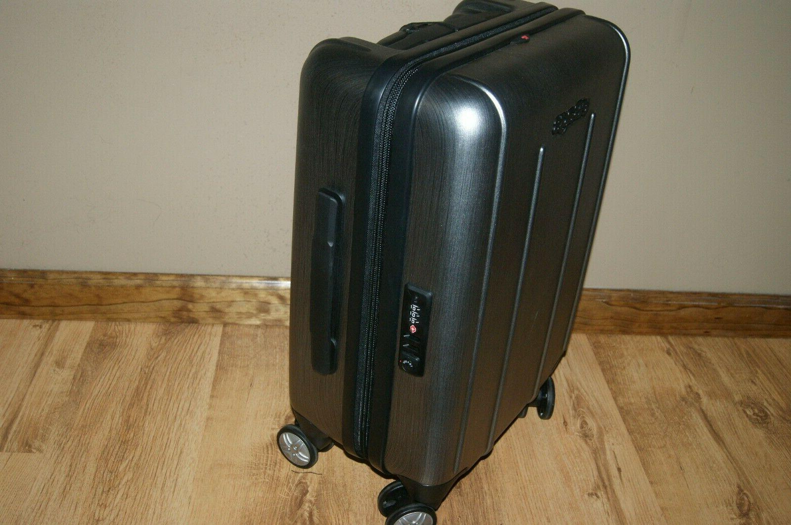 eBags EXO Spinner Rolling Carry-On Luggage