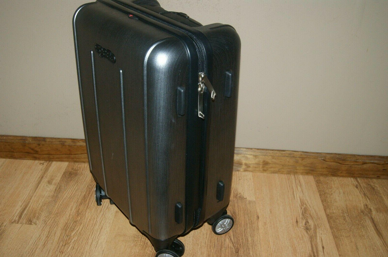 eBags 2.0 Hardside Spinner Carry-On Luggage Brushed Graphite