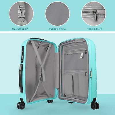 REYLEO Inch PP on Luggage Travel with USB