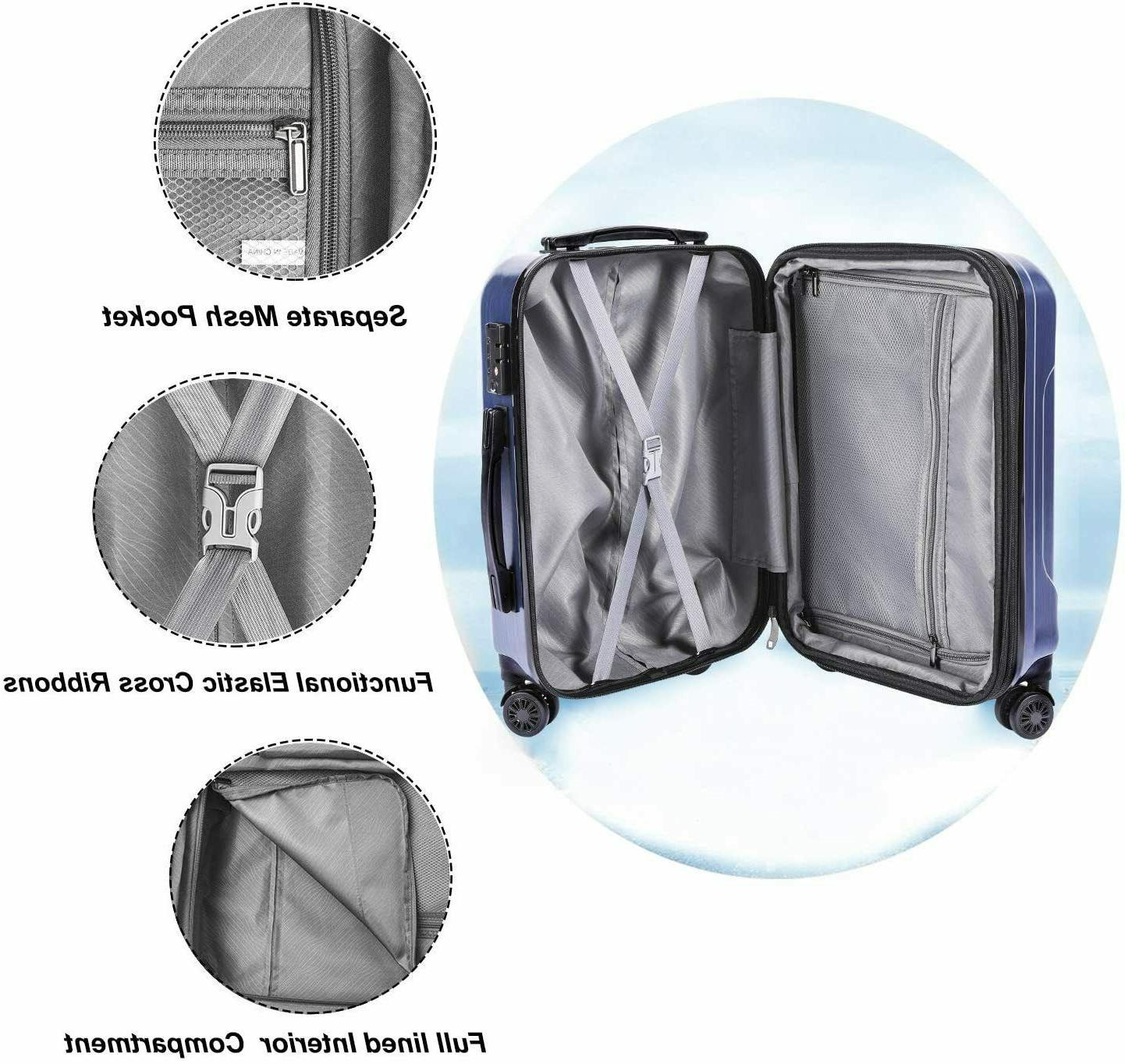 CarryOne 20in PC+ABS Carry Travel Built-i