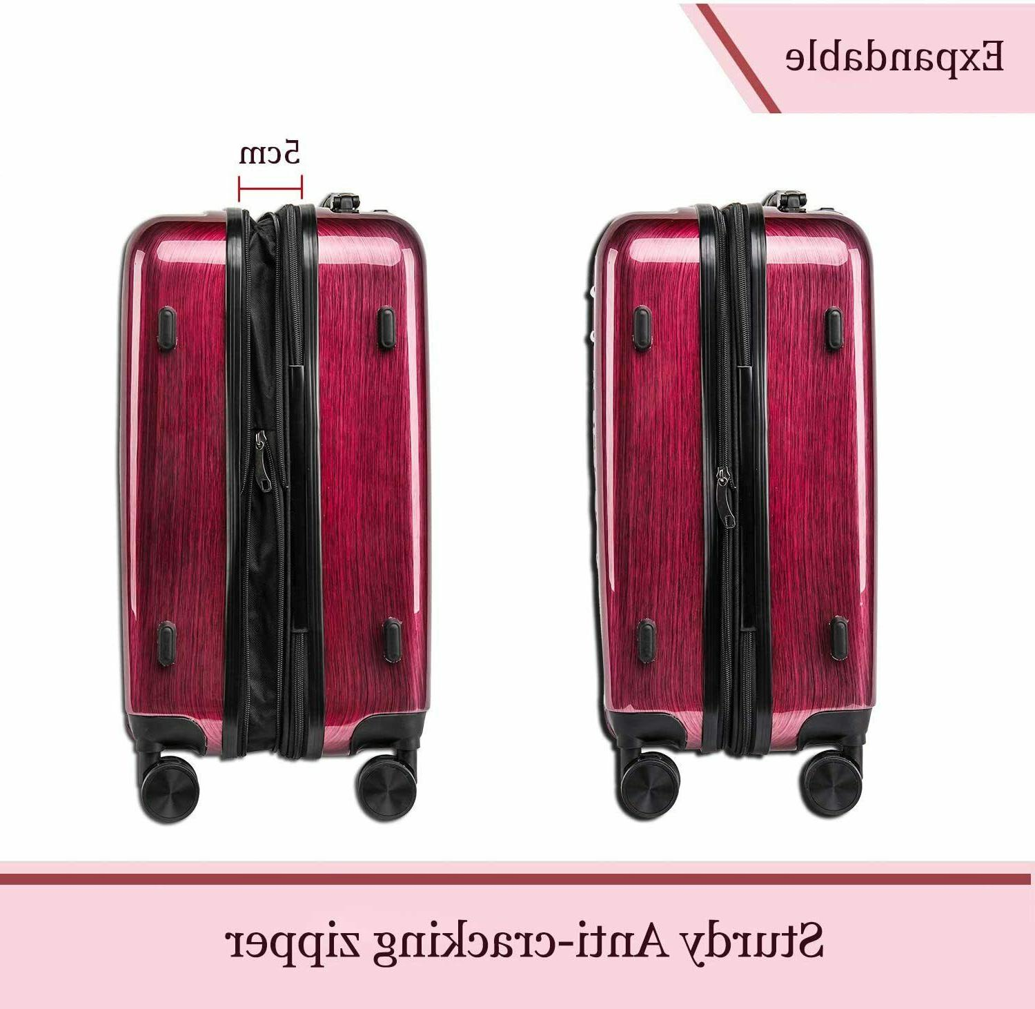 CarryOne Luggage Inch Carry Travel Suitcase Sile