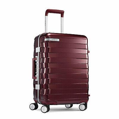 framelock 25 inch spinner luggage cordovan 111172