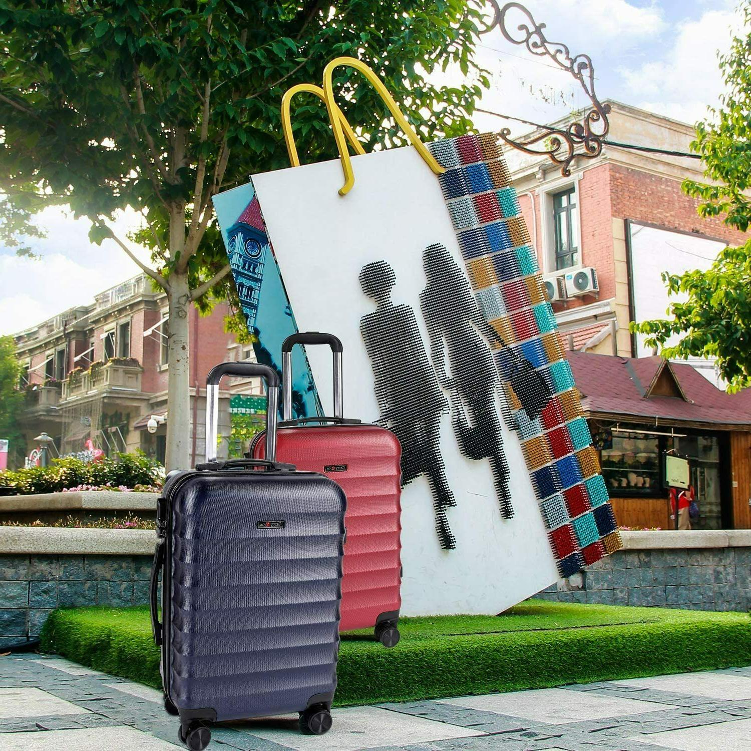 CarryOne Carry Luggage, Lightweight Spinner Wheels,