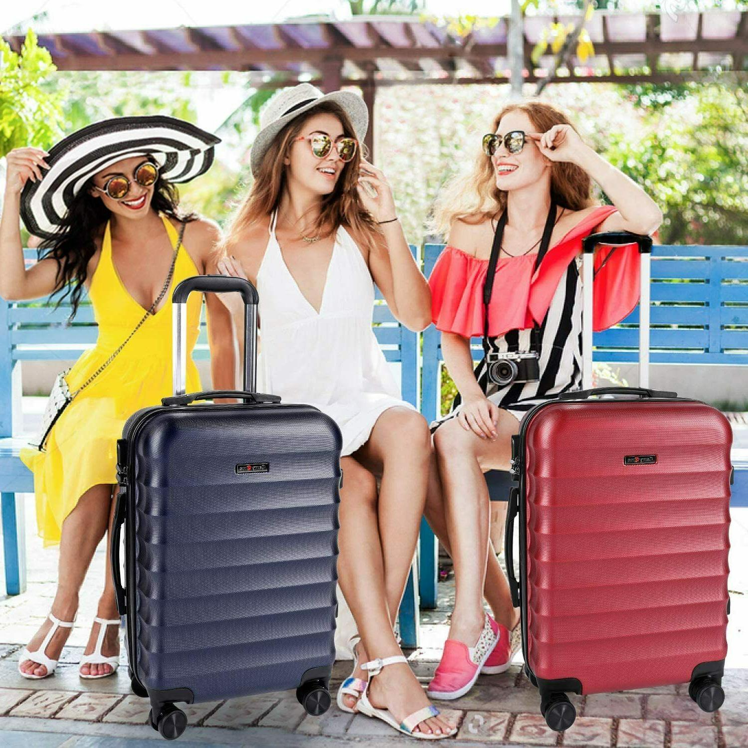 CarryOne Carry Luggage, Suitcase Spinner Wheels,