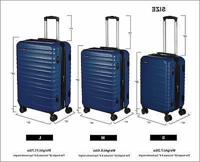 AmazonBasics Spinner Travel Blue, 20-inch