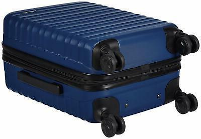AmazonBasics Hardside Spinner Blue, Size