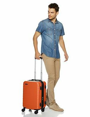 AmazonBasics Luggage - 20-Inch, Orange
