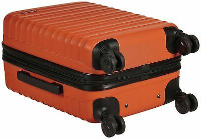 AmazonBasics Hardside - Carry-On Standard Orange