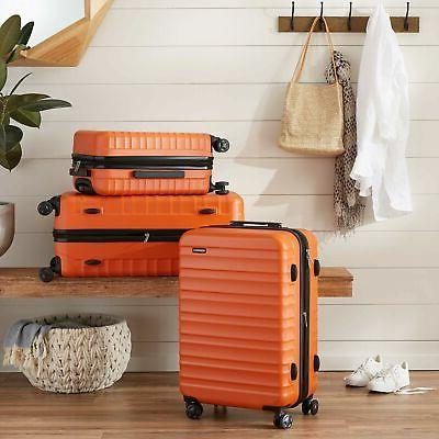 AmazonBasics Spinner - Carry-On Orange