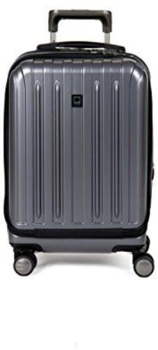 Delsey Helium Titanium International CarryOn Expandable Spin
