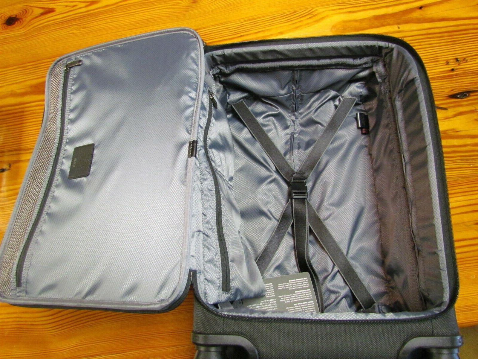 Tumi Front Lid 4-Wheel Carry