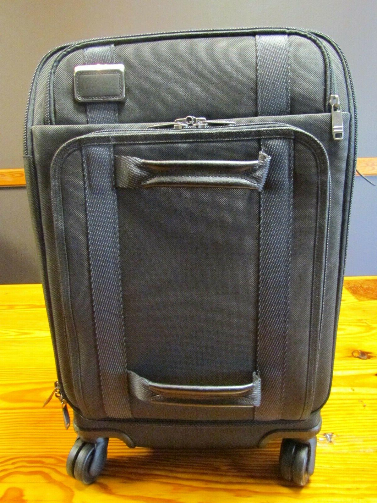 international front lid 4 wheel carry on