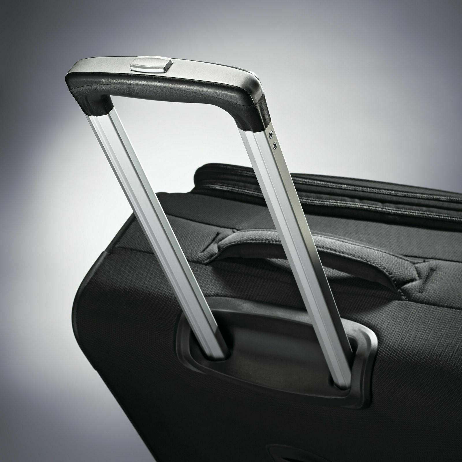 """Samsonite Luggage Ascella 20"""" Expandable Spinner Carry-On Black"""