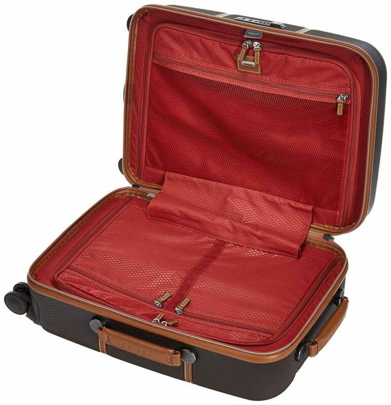 Delsey Luggage Hard+ Suitcase Hardcase With