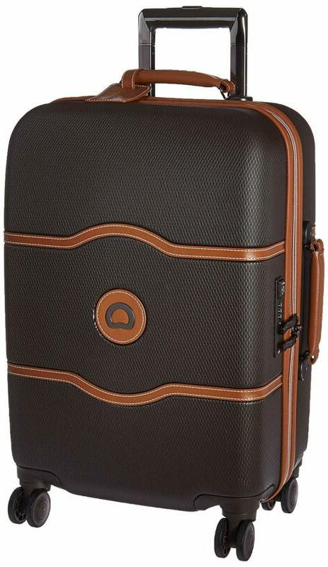 luggage chatelet hard carry on spinner suitcase