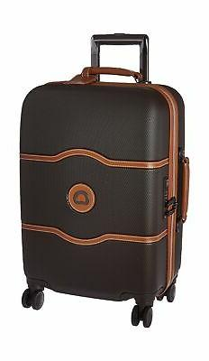 DELSEY Paris Luggage Chatelet Hard+ Carry On Spinner Suitcas