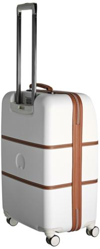 DELSEY Luggage Hard+ Medium Checked Spinner Suitcase