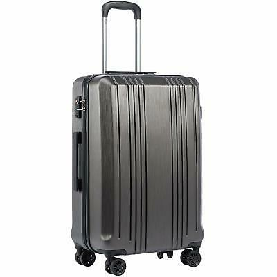 luggage suitcase pc abs with tsa lock