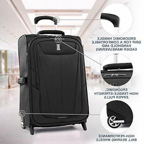 Travelpro 5-Softside Expandable Carry-On 22-Inch, Black