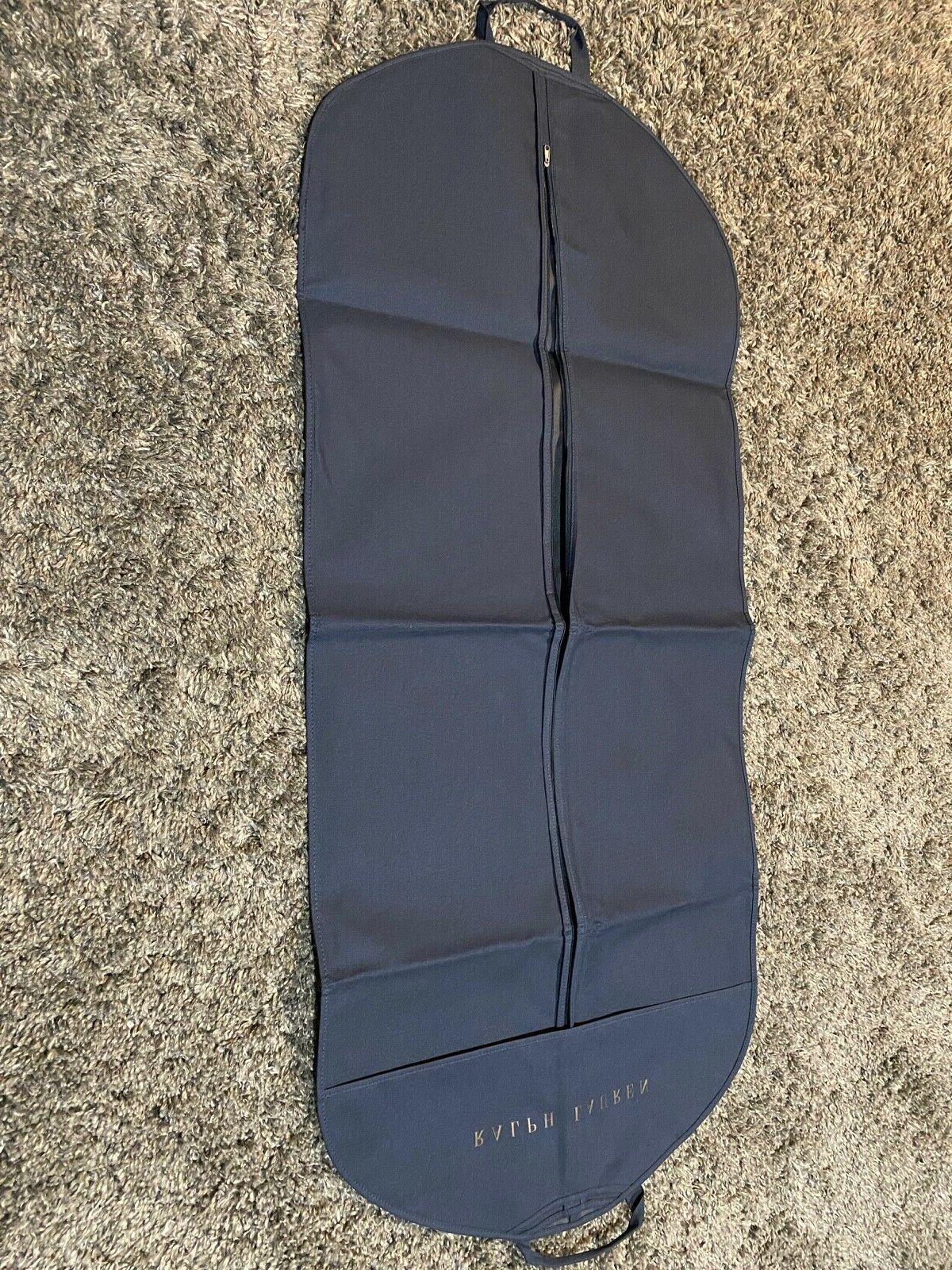 Polo Ralph gold suit large garment bag carry