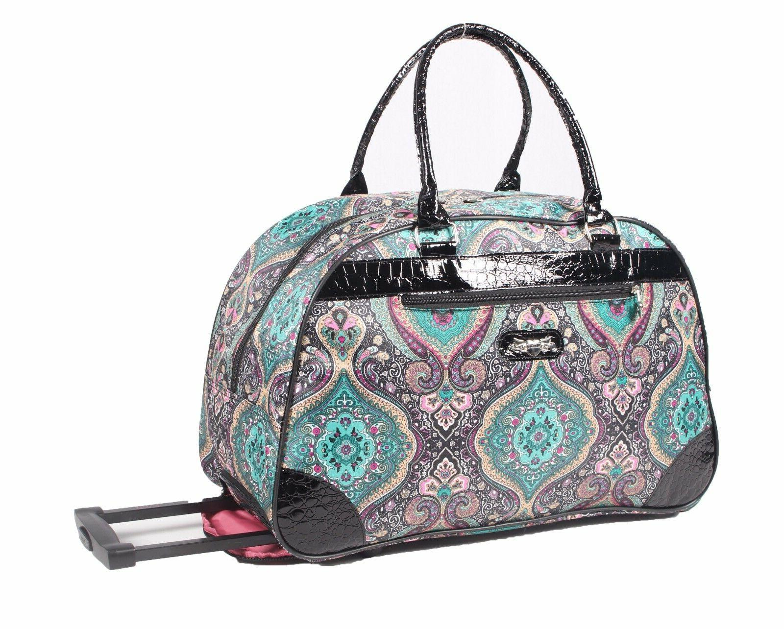 new 22 inch wheeled duffel luggage carry