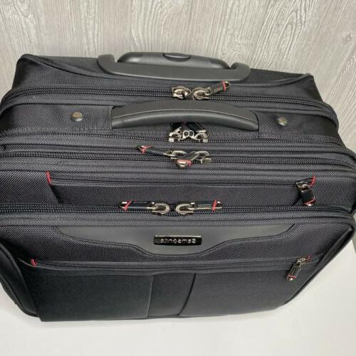 NEW On Luggage Samsonite Spinner Mobile Wheeled