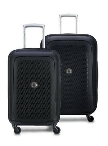 new tasman 2 piece hardside spinner luggage