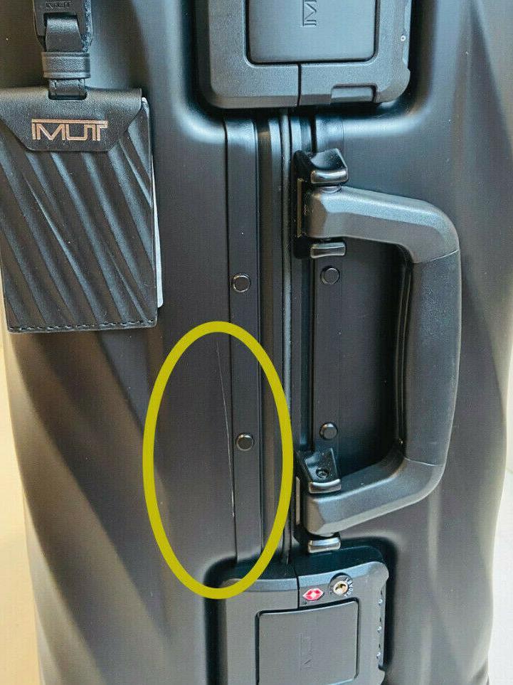 NWT Degree Aluminum Black International Carry