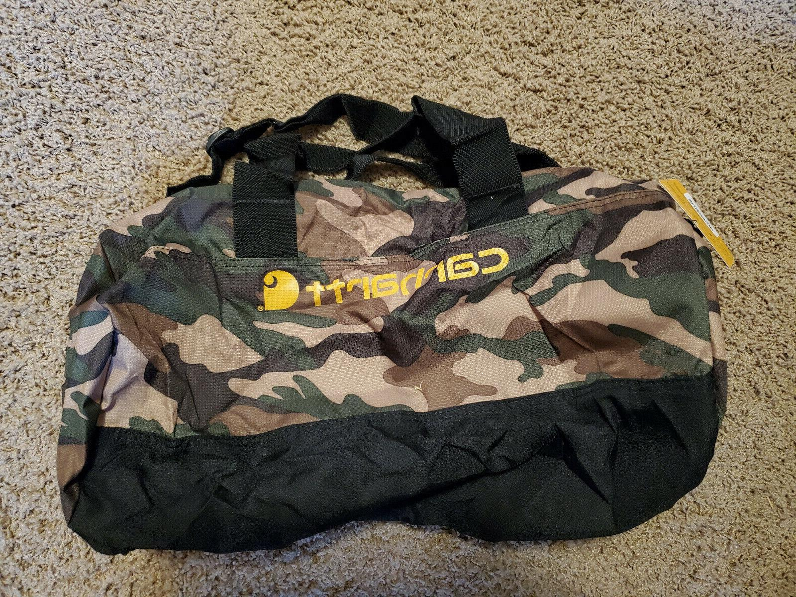 """Packable On Luggage CARHARTT 19"""" Bag Camouflage New"""