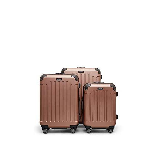 """Kenneth Cole 20"""" Spinner Carry-on Rose Gold"""
