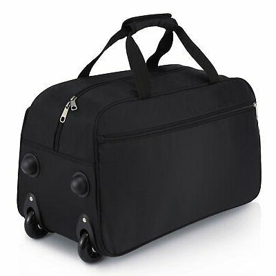 Rolling Duffel Bag, Repellent On