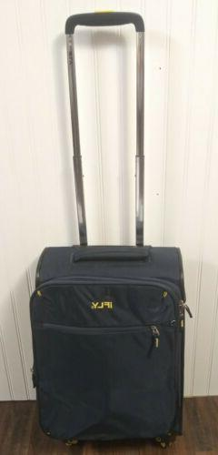 "iFLY Softside Luggage Ez Glider 20"" Carry-On Luggage, Navy"