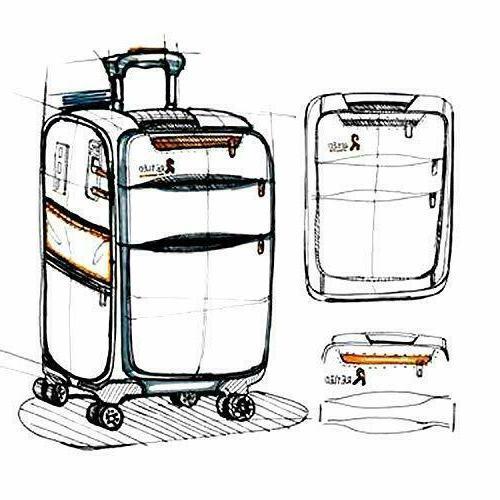 REYLEO 20 Inch On Luggage Travel