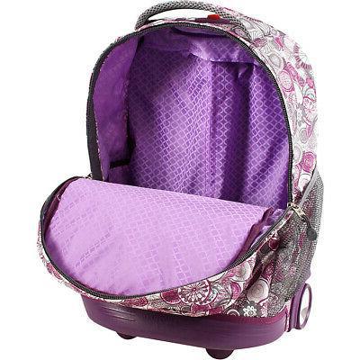 "J Sunrise Rolling Backpack - 18"""
