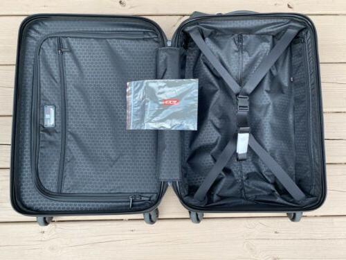 Tumi International Side Spinner Grey Suitcase