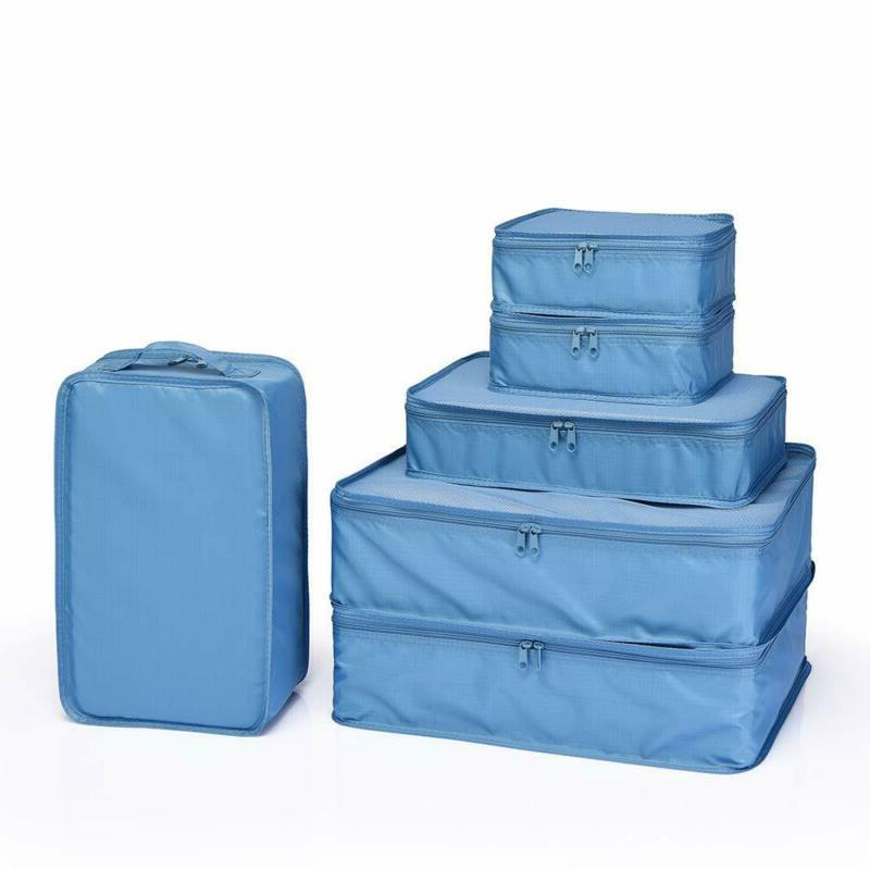 Luggage Organizers With Shoe Bag Jj Power Travel Packing Cubes