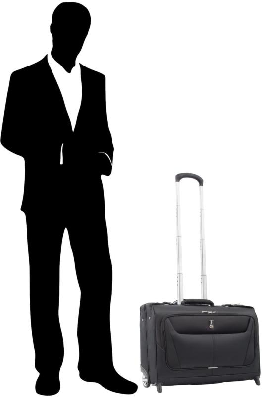 Travelpro 5-Lightweight Carry-On Rolling Garment Black, 22-Inch