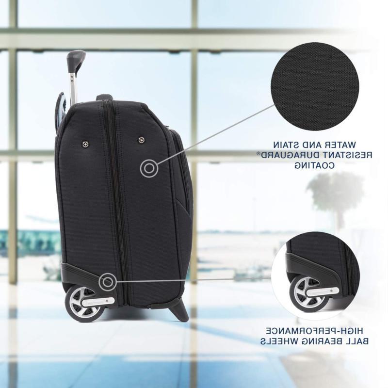 Travelpro Maxlite 5-Lightweight Rolling Garment Bag, Black, 22-Inch