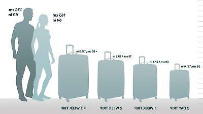 """Delsey Luggage Cruise Hardside 19"""" on Exp. Black"""