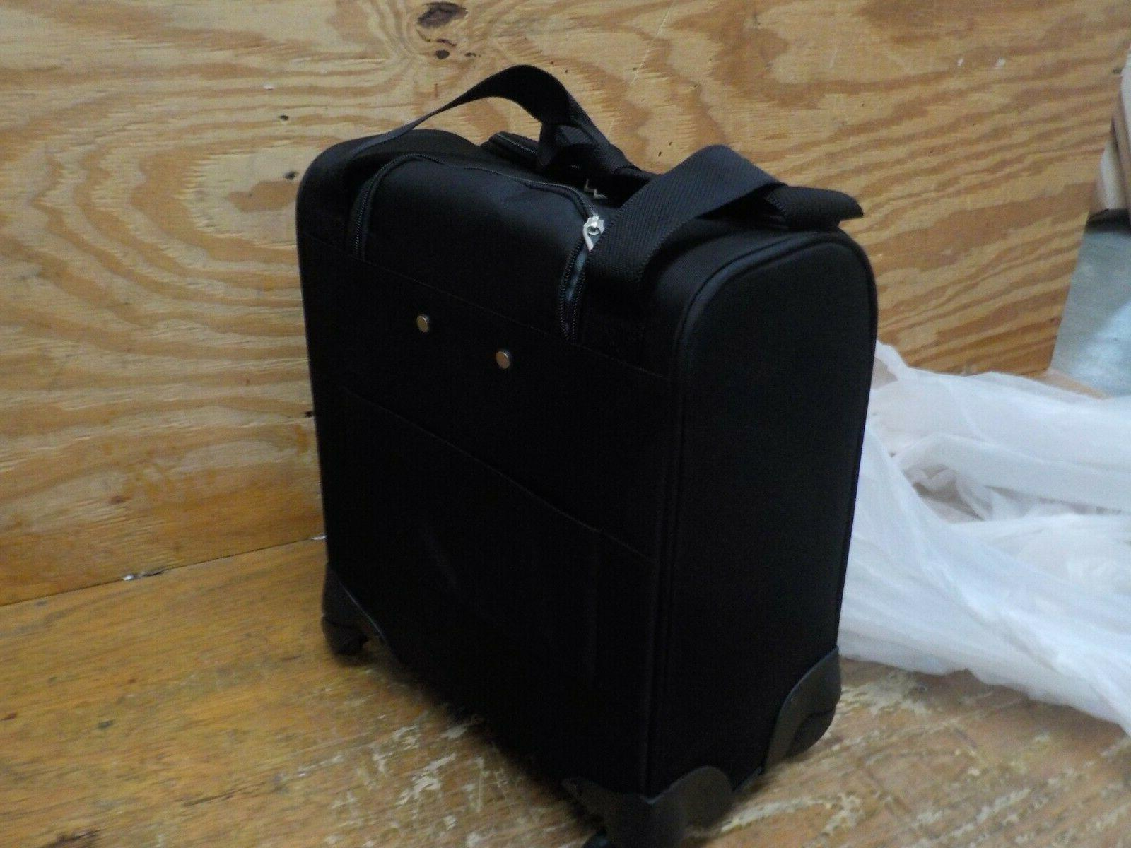 Samsonite Underseat Carry-On Spinner With USB Jet Black, One Size