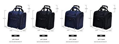 AmazonBasics Luggage, Quilted