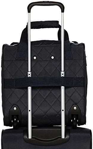 AmazonBasics Underseat Luggage, Quilted