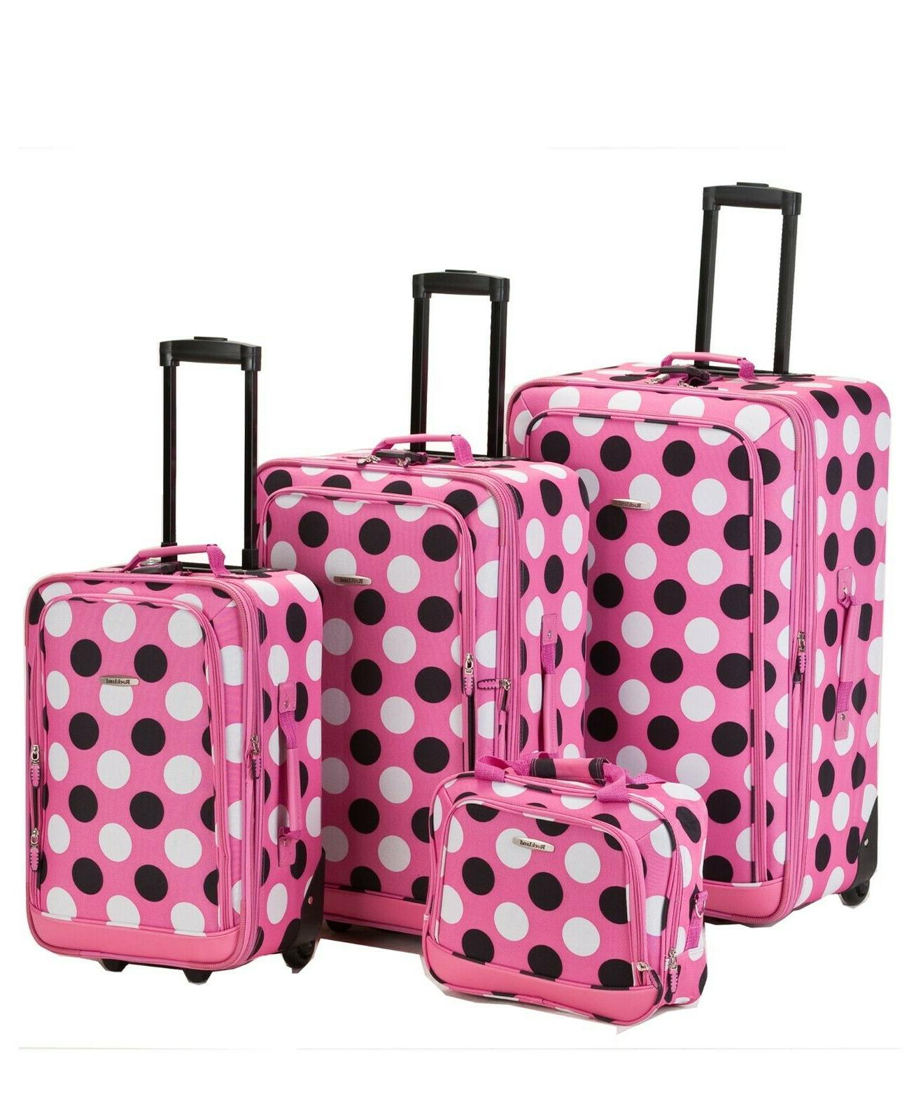 Rockland Pink Family Carry Case
