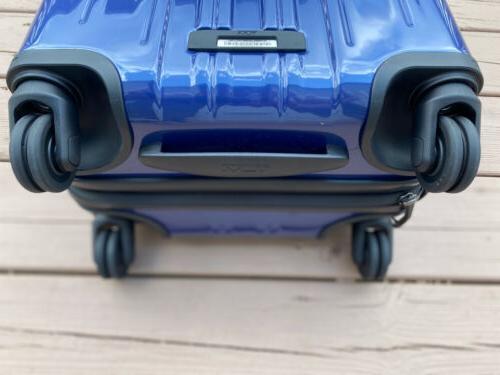 Tumi 'V3' Wheeled On Suitcase Blue