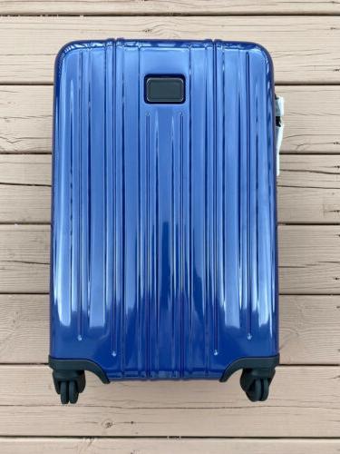 v3 international 4 wheeled carry on suitcase