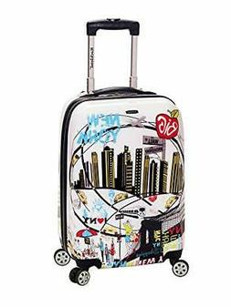 Rockland Las Vegas 20-inch Hardside Spinner Carry-On Luggage