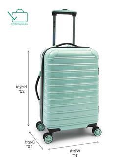 "Lightweight Hardside Carry On Luggage 20"" Travel Wheeled Rol"