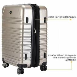 20'' Luggage Expandable Suitcase Carry On TSA Locks Lightwei